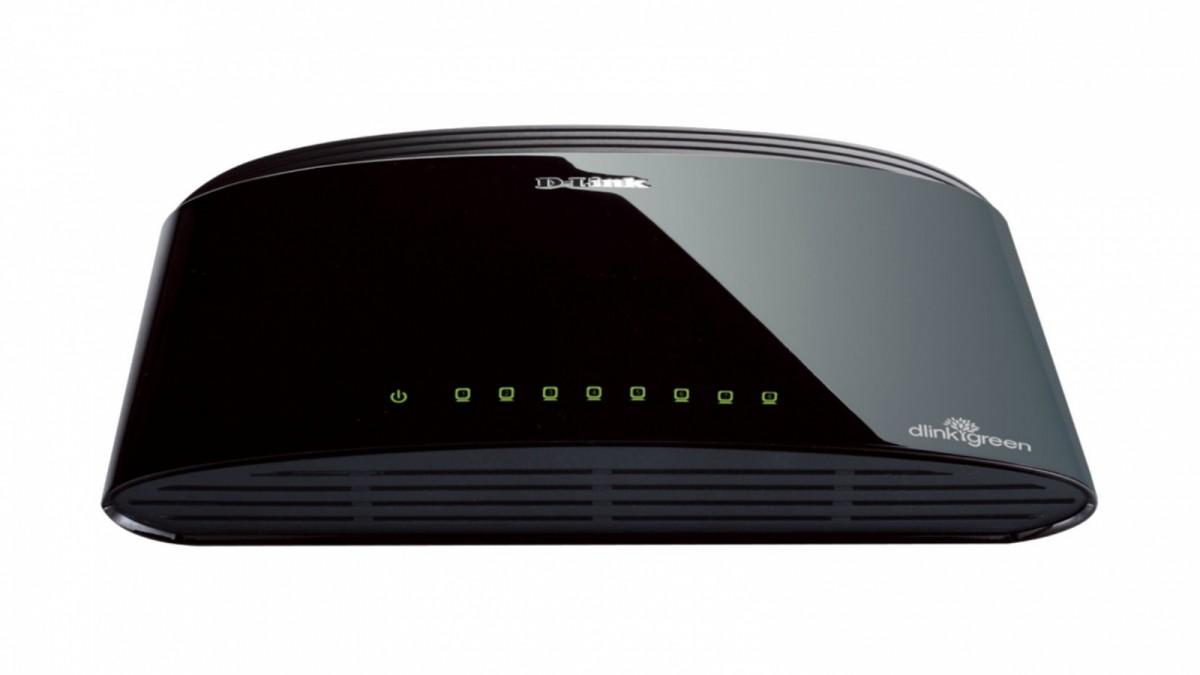 DES-1008D switch L2 8x10/100 Desktop/Wall NO FAN