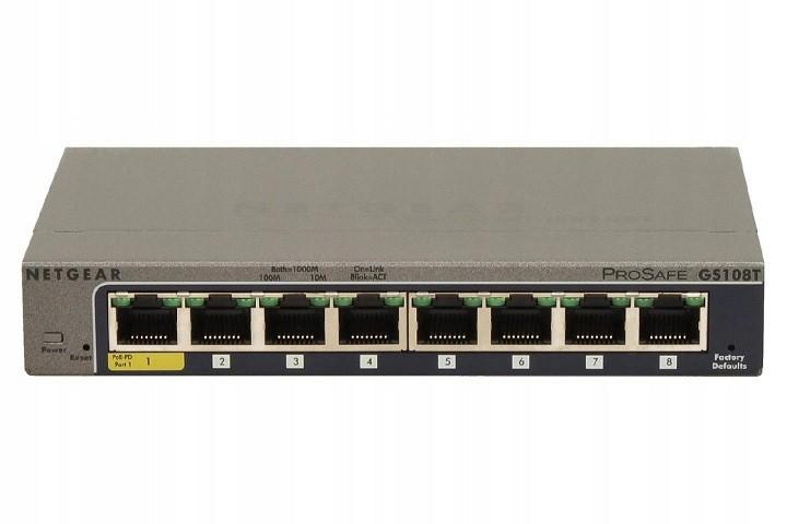 Przełącznik Smart GS108T 8x1Gb
