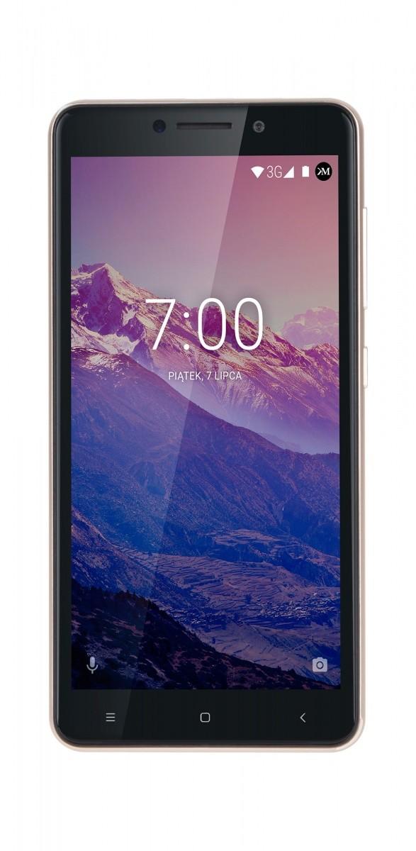 Smartfon MOVE 8 mini złoty