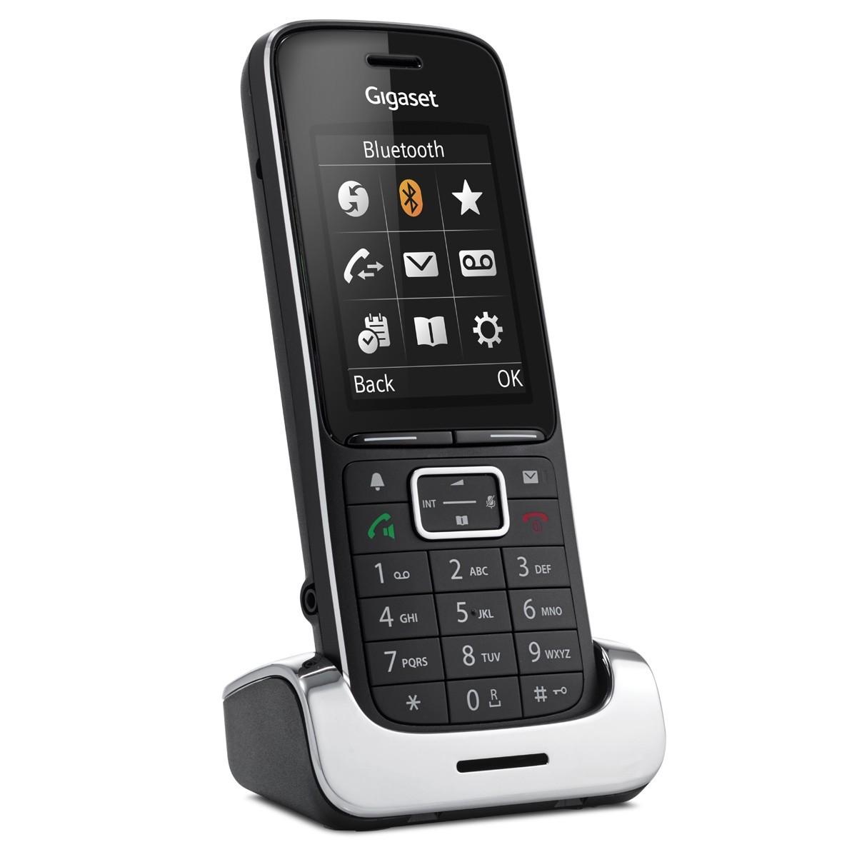 Telefon bezprzewodowy SL450HX czarny