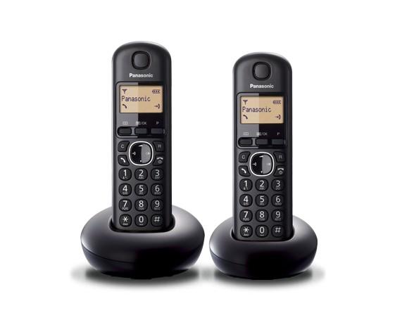 KX-TGB212 Dect Black Duo
