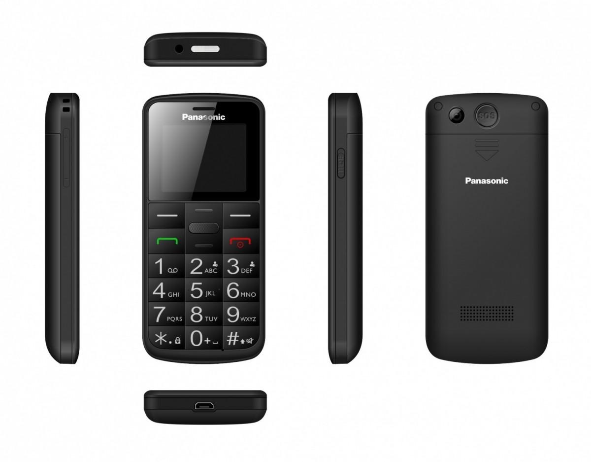 Telefon komórkowy dla seniora KX-TU110 czarny