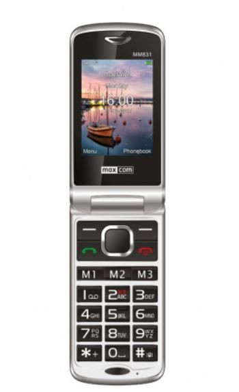 MM831BB CZARNY Poliphone/Big button 3G