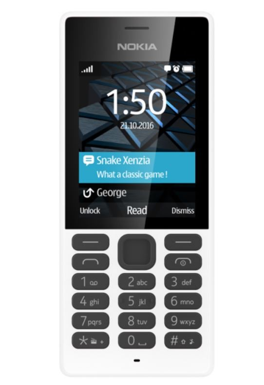 Telefon komórkowy 150 Dual Sim Biały