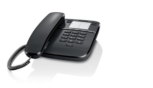 Gigaset Telefon DA310 CZARNY przewodowy