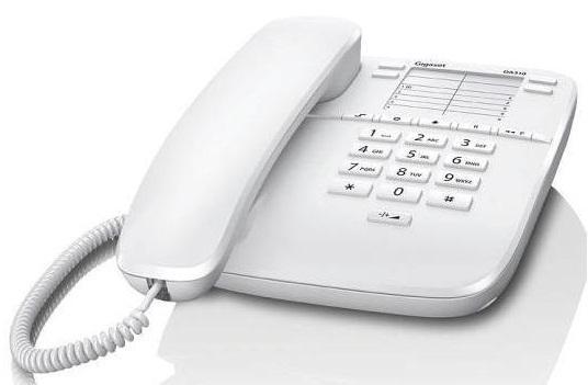 Gigaset Telefon DA310 WHITE przewodowy