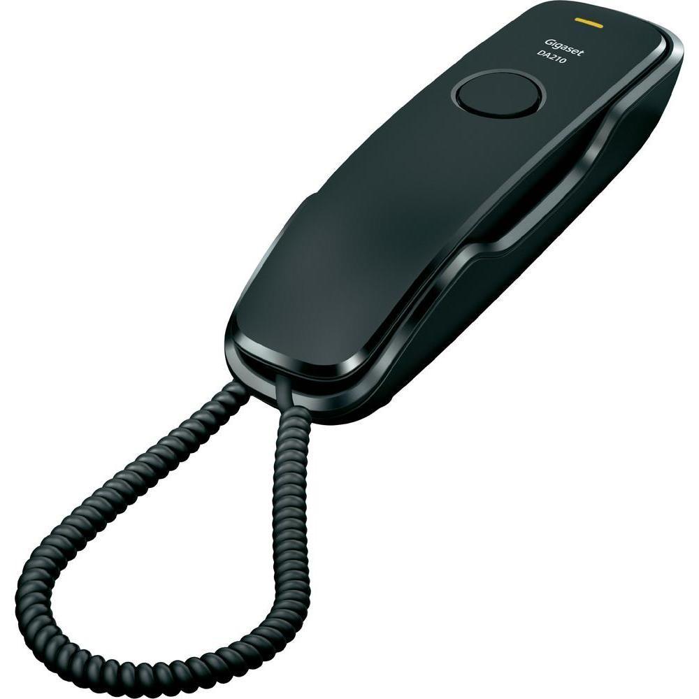 Gigaset Telefon DA210 CZARNY przewodowy