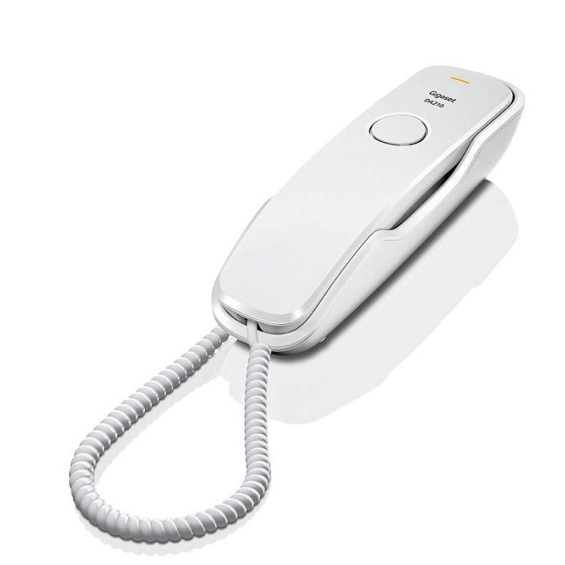 Gigaset Telefon DA210 biały przewodowy