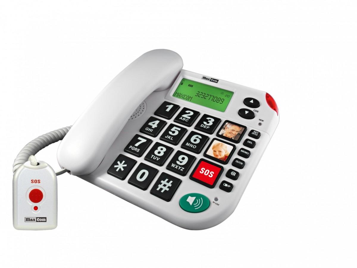 KXT 481 SOS TELEFON PRZEWODOWY + PILOT SOS