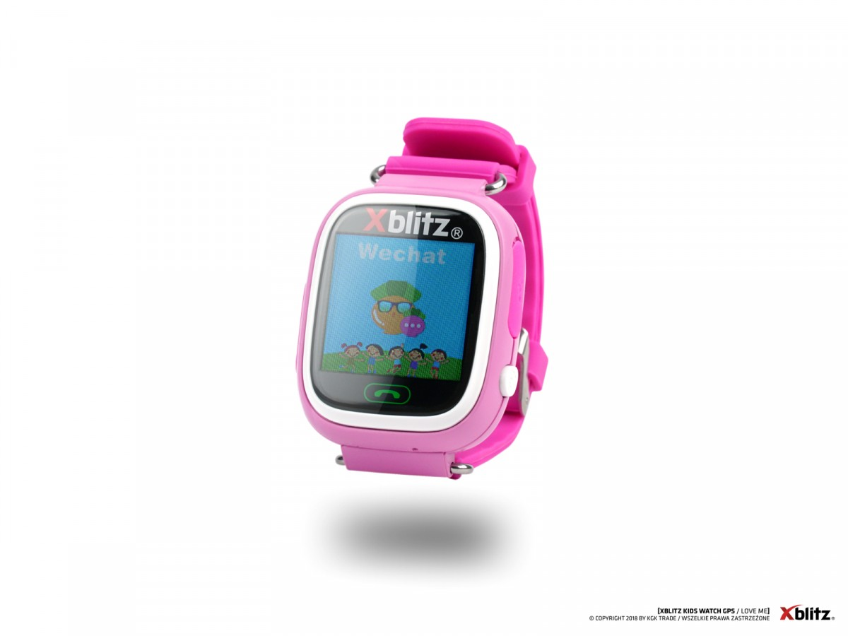 SMARTWATCH 4KIDS LOVEME RÓŻOWY