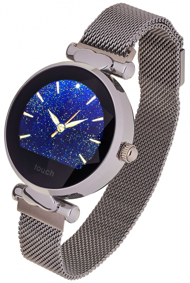 Smartwatch Women Lisa srebrny stalowy