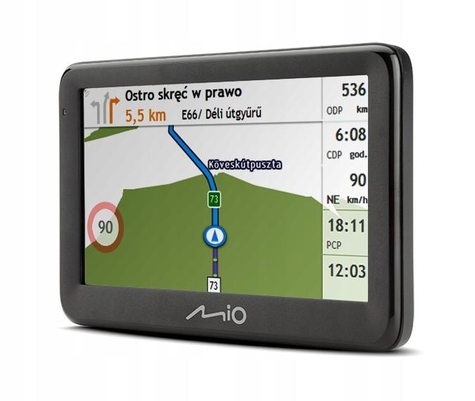 Nawigacja samochodowa GPS Pilot 15 lifetime
