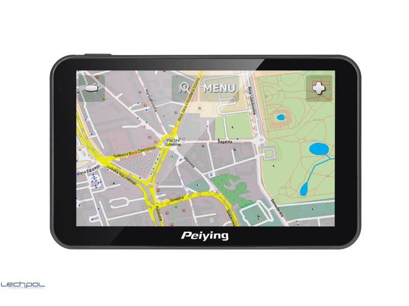 Nawigacja GPS 5 Mapa Europy