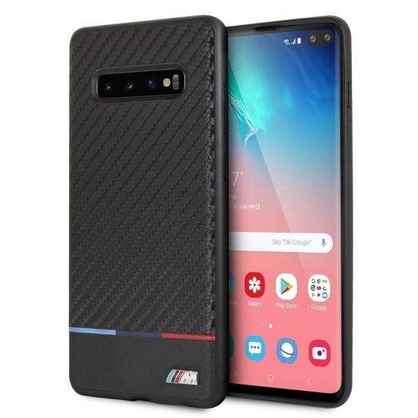 Etui Hardcase BMHCS10PPUCARTCBK Samsung G975 S10 Plus czarny Carbon