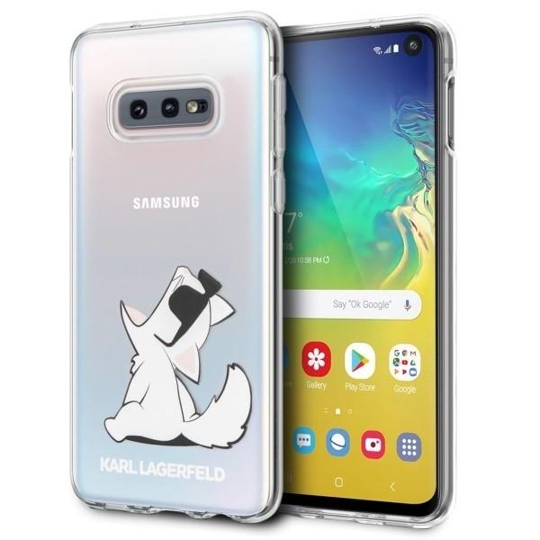 Etui Hardcase Samsung G973 S10 KLHCS10CFNRC transparent Choupette Fun