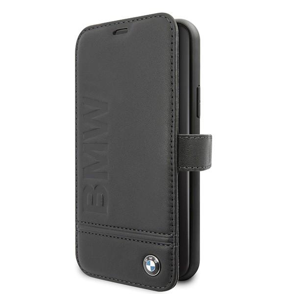 Etui book BMFLBKSN61LLSB iPhone 11 czarny Signature