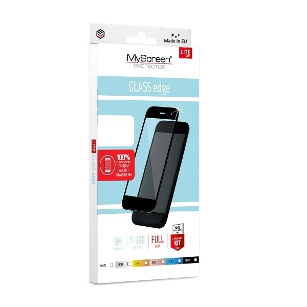LiteGLASS EDGE FG Samsung A40 czarne