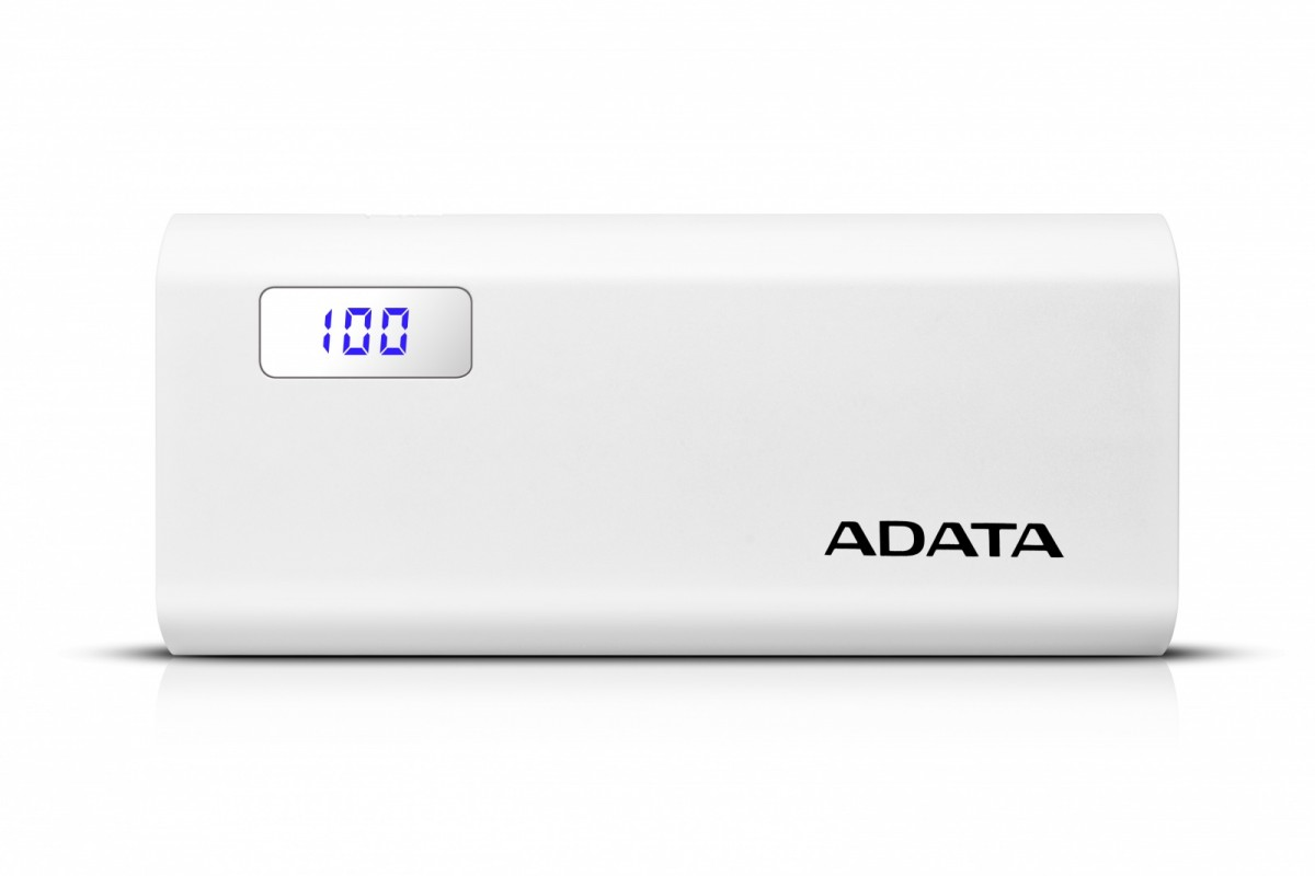 Power Bank P12500D 12500mAh Biały 2.1A