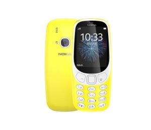 Nokia 3310 Dual SIM żółty