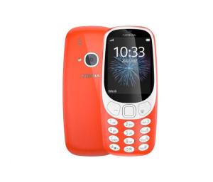 Nokia 3310 Dual SIM czerwony