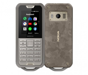 Nokia 800 Tough DS Pustynny Szary