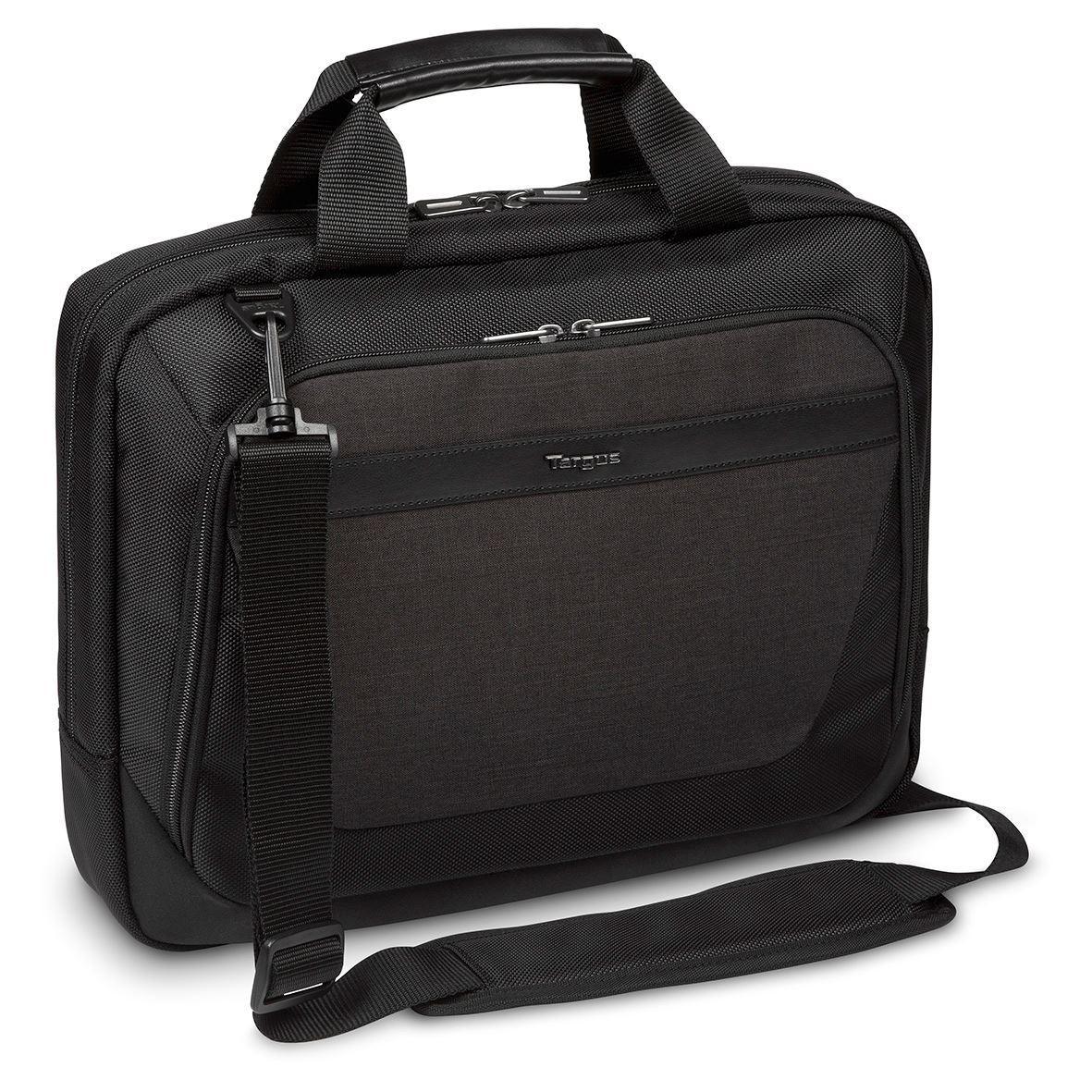 "CitySmart 12-14"" Slimline Topload Laptop Case Czarny\Szary"