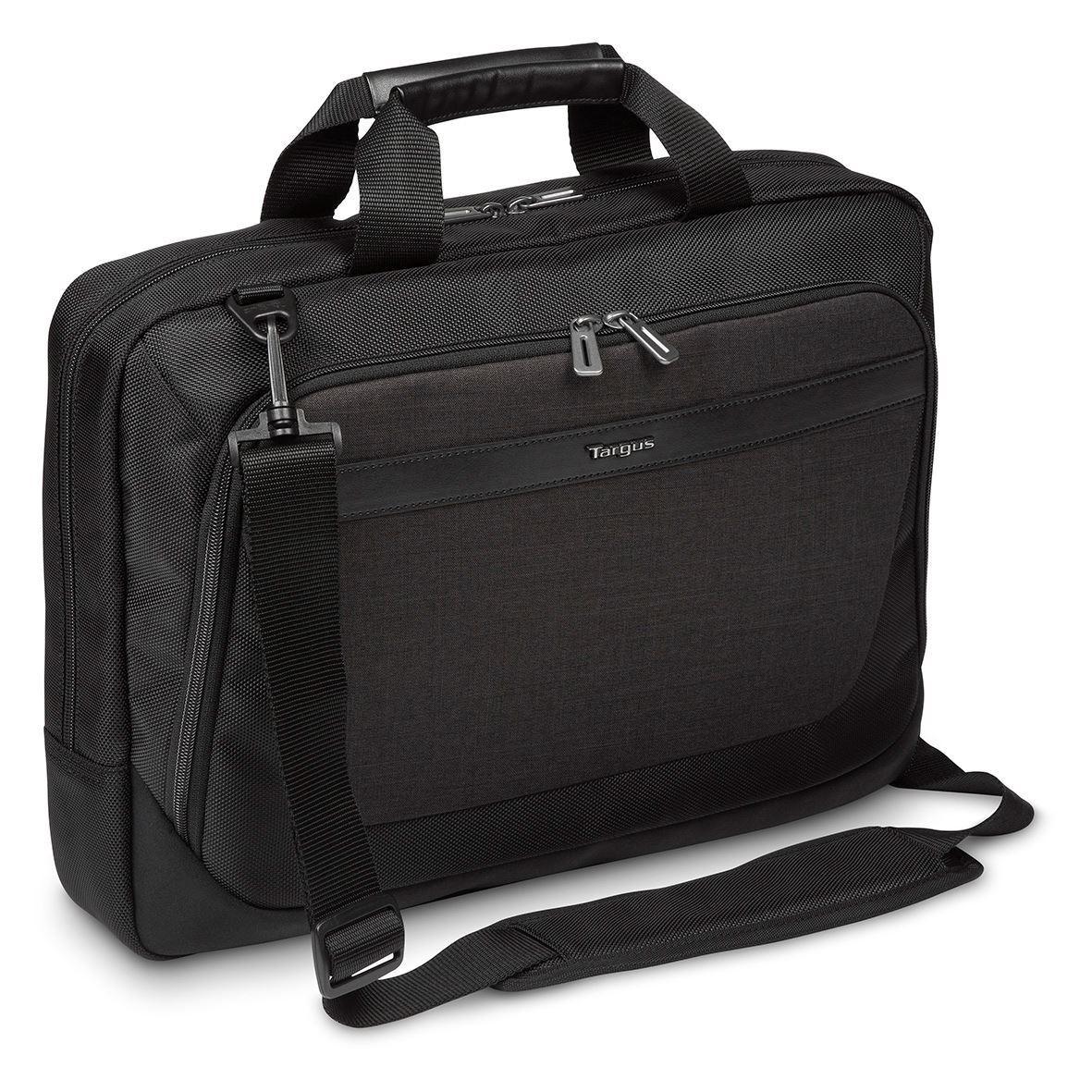 Torba na notebook CitySmart 14-15. 6 SlimLine Topload czarny/szary