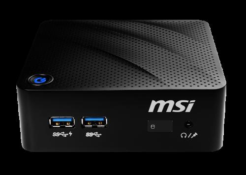 MSI Cubi N 8GL Cel N4000/1x SO-DIMM(max 8GB)/1x M.2 2280 PCIe/4x USB 3.1 Gen1/WiFi/noOS