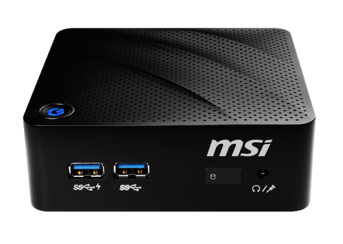 MSI Cubi N 8GL Cel N4000/4GB/64GB SSD/4x USB 3.1 Gen1/WiFi/Windows 10 Pro