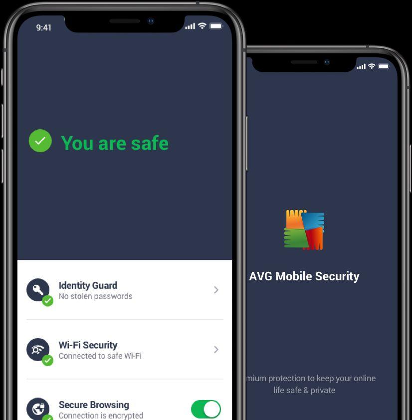 AVG smartfon