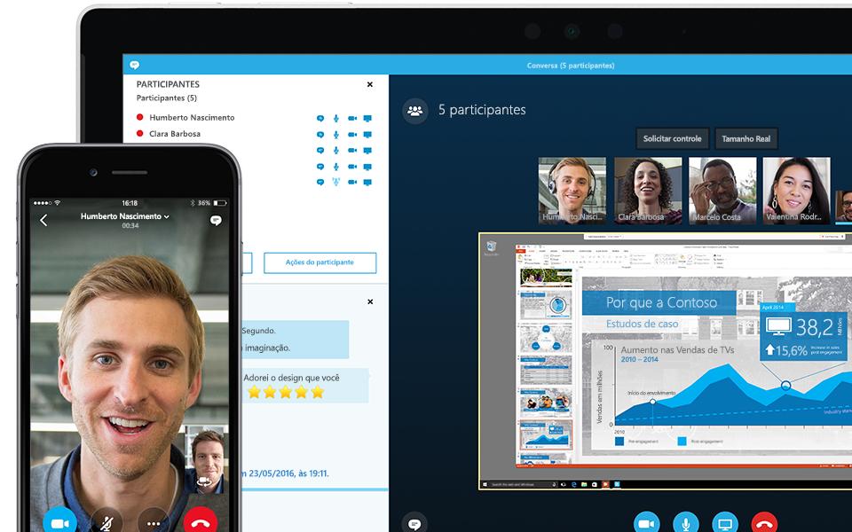 Skype aplikacja