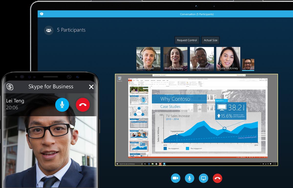Skype aplikacja mobilna