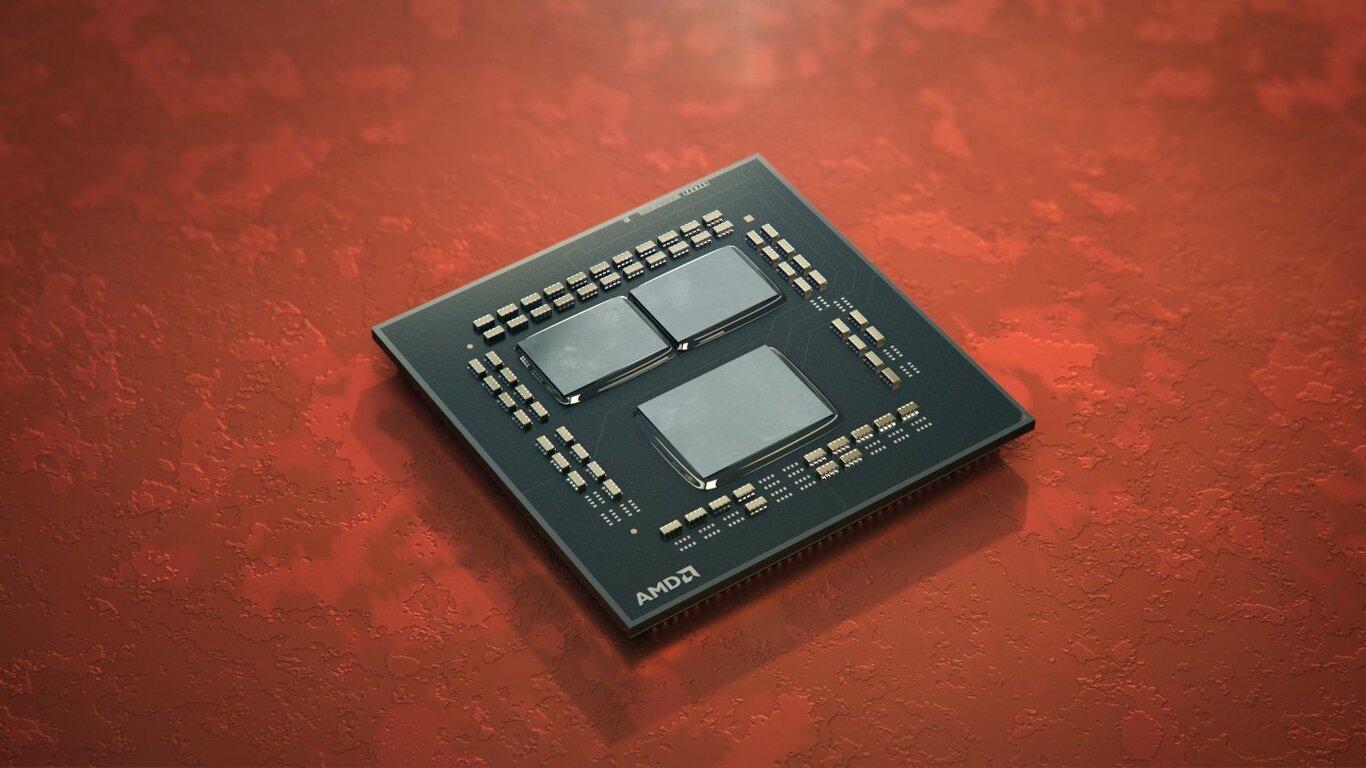 AMD Ryzen 5 5600X render wnętrza