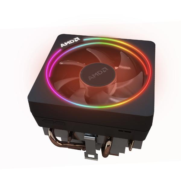 chłodzenie AMD Wraith na białym tle