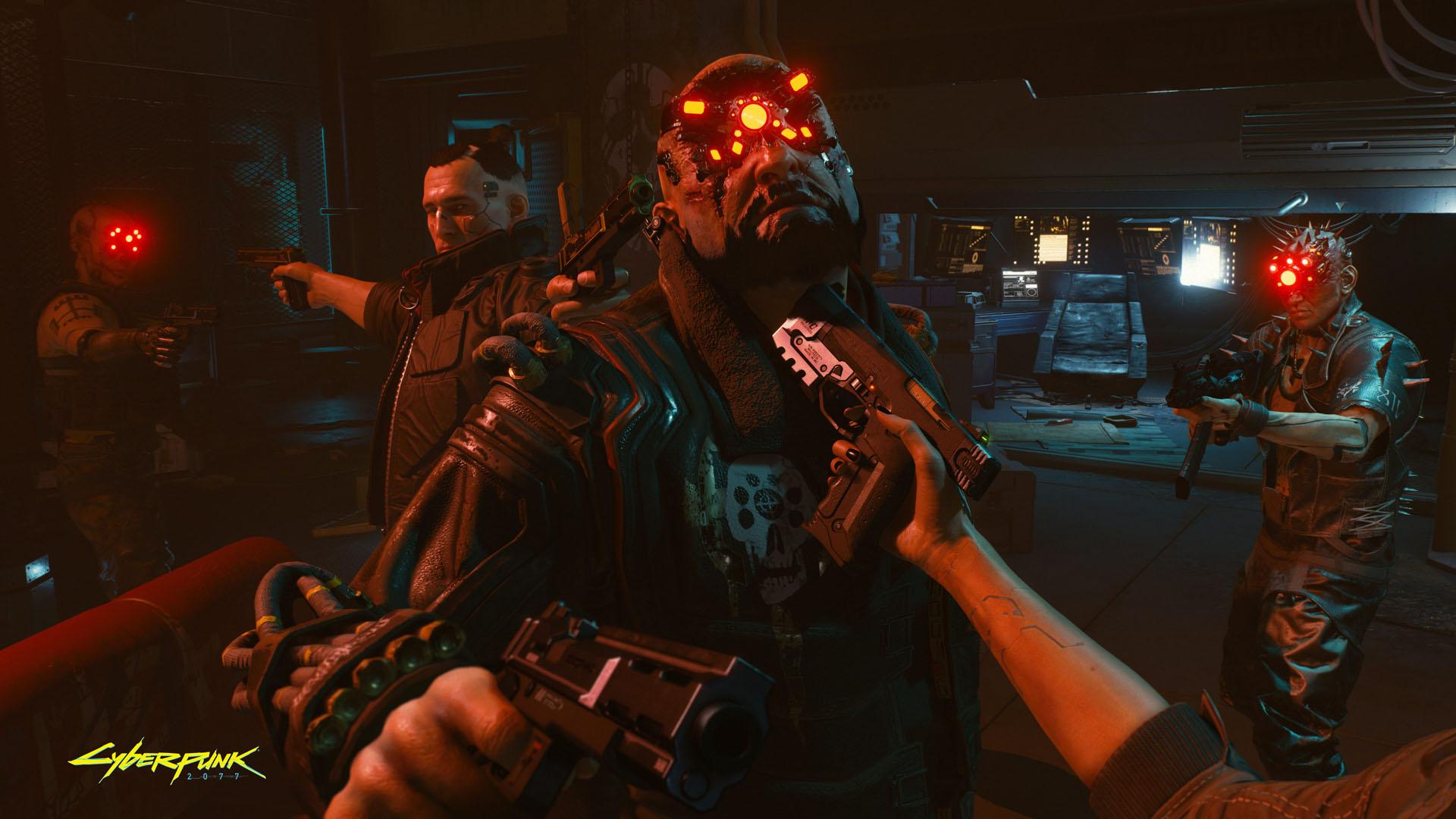 Cyberpunk 2077 - starcie z przeciwnikiem