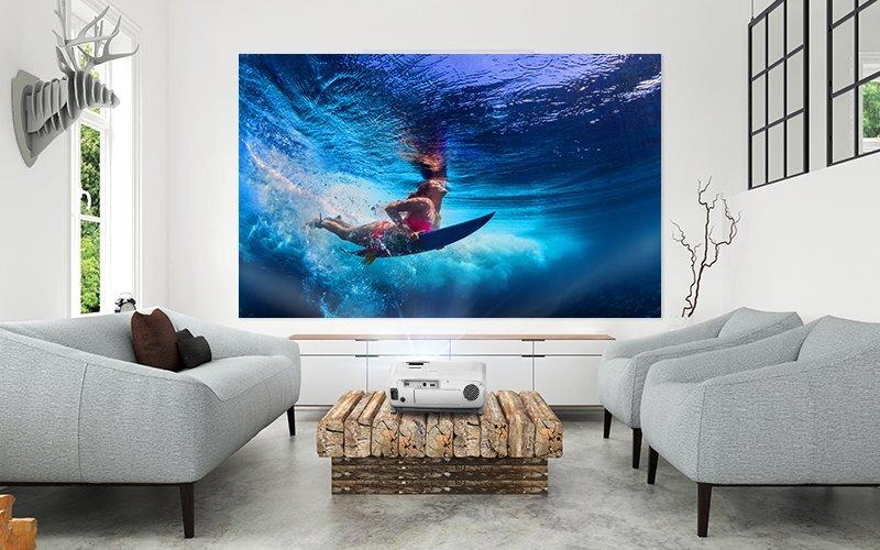 Epson EH-TW5700 duży ekran