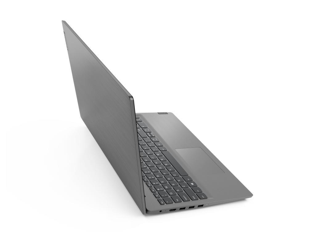 Lenovo V15 - bryła laptopa widoczna z góry