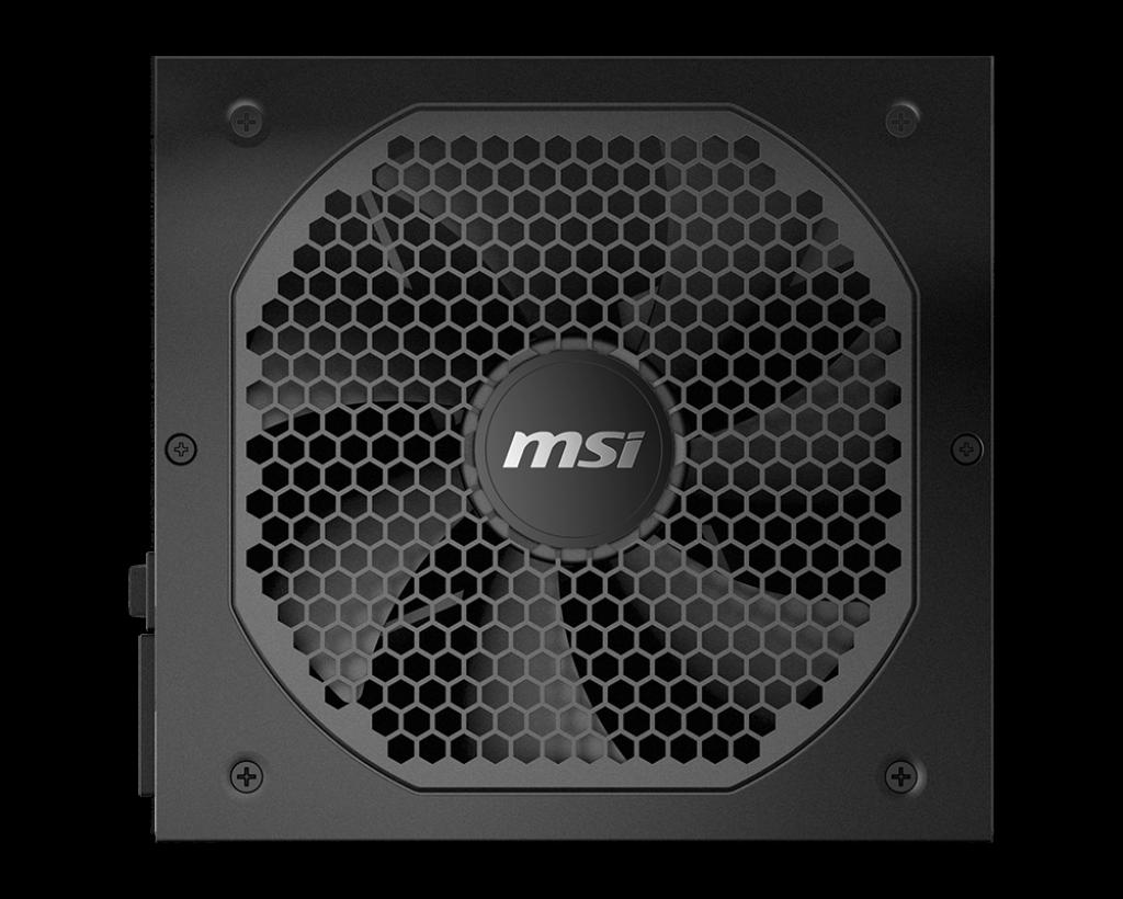 MSI MPG A650GF 650W 80 Plus Gold 120 mm wentylaor