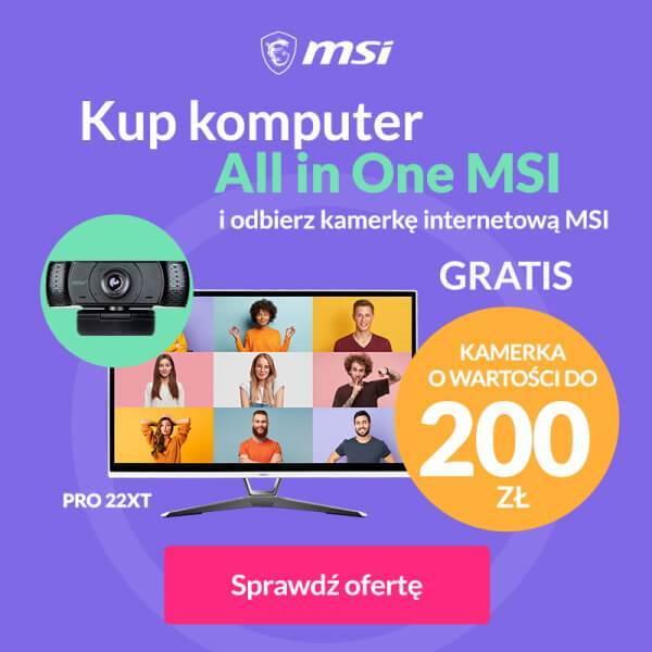 MSI - baner promocja