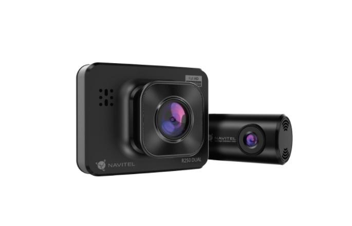 Navitel R250 Dual - dwie kamery