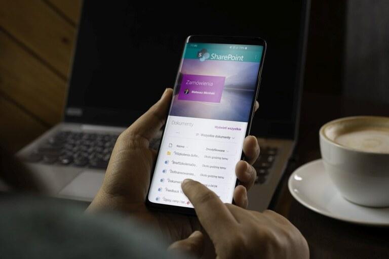 Aplikacja SharePoint na Androida