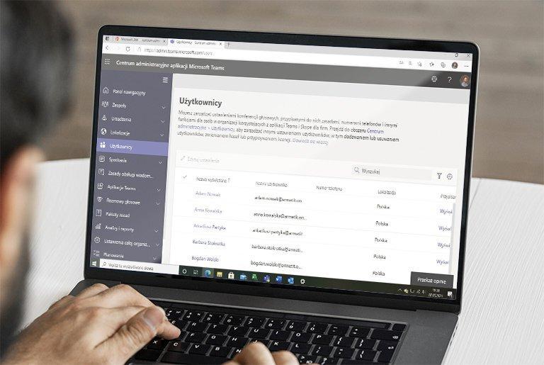 Microsoft Teams - zarządzanie użytkownikami
