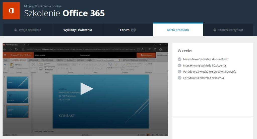 Więcej Office 365
